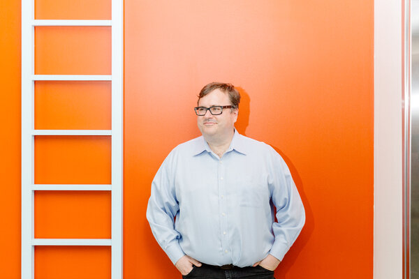 The LinkedIn co-founder Reid Hoffman is among those urging Americans to stay patient as the election is sorted out.