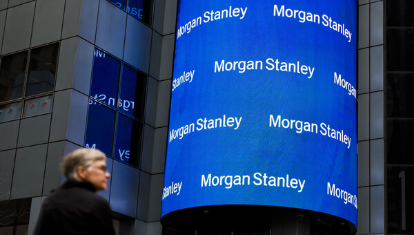 Revenue from the Morgan Stanley's trading business rose 19 percent from the same period last year, as U.S. markets rallied.