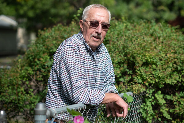 Thomas Moline, a retired garbage man who voted for Gary Johnson in 2016, said he will be voting for Joseph R. Biden Jr. this fall.