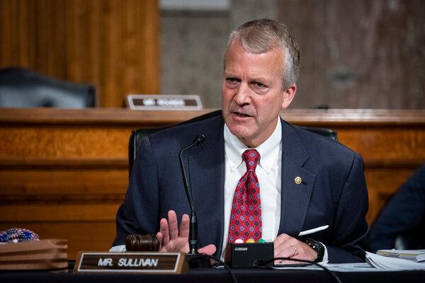 Senator Dan Sullivan, a Republican, retains a polling lead over his Democratic challenger, Al Gross, in what has become an unusually close race.
