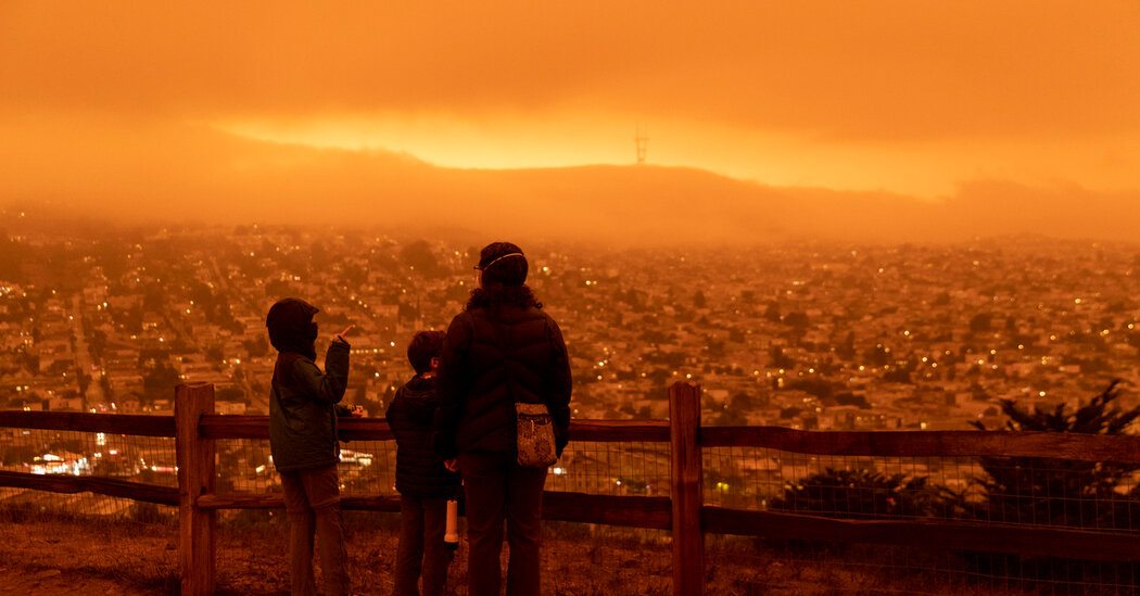 How Parents Can Tame the Stress of Climate Crises