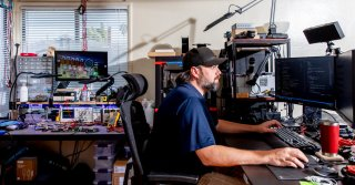 When Start-Ups Go Into the Garage (or Sometimes the Living Room)