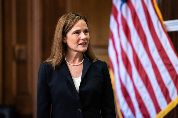 Amy Coney Barrett, President Trump's nominee for the  Supreme Court, is expected to be approved by the Senate Judiciary Committee on Thursday, but Democrats might not be there.