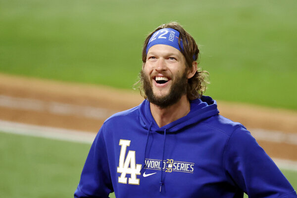 Clayton Kershaw faced 21 batters in the Dodgers' win.