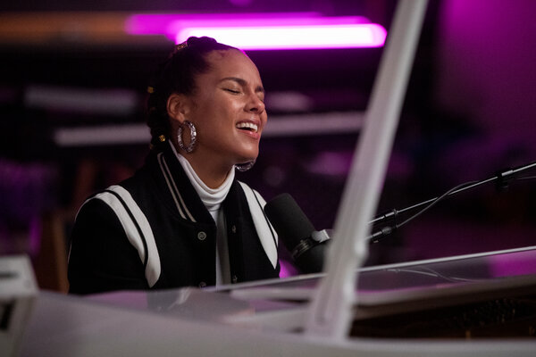 """Alicia Keys in an episode of Netflix's """"Song Exploder"""" that explores the creation of the new song """"3 Hour Drive."""""""