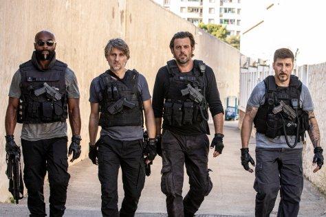 De cast van Rogue City recensie op Netflix België