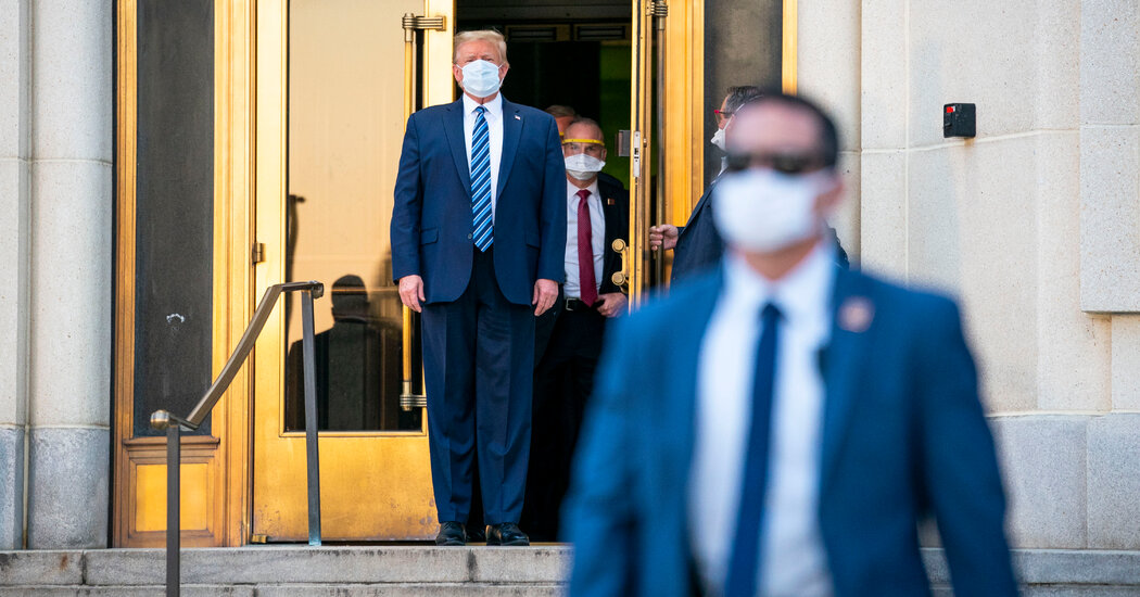Tests Show Genetic Signature of Coronavirus That Likely Infected Trump