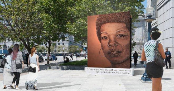 San Francisco Reinstates Winning Design for Maya Angelou Monument