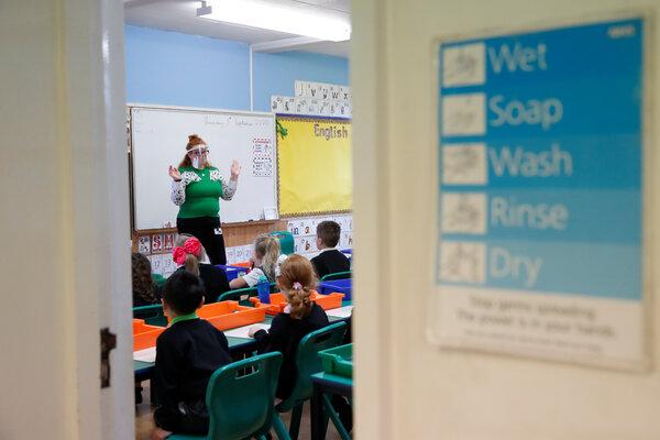 Children returned to school in Britain in September.