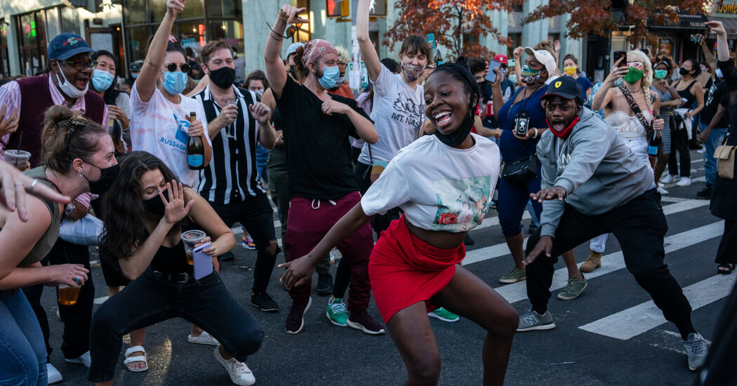 The Election Brings Dance to the Streets for a Collective Roar