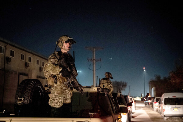 American troops in Afghanistan in 2019. The president has been frustrated by what he sees as the military moving too slowly to fulfill his promise that all troops will be home by Christmas.