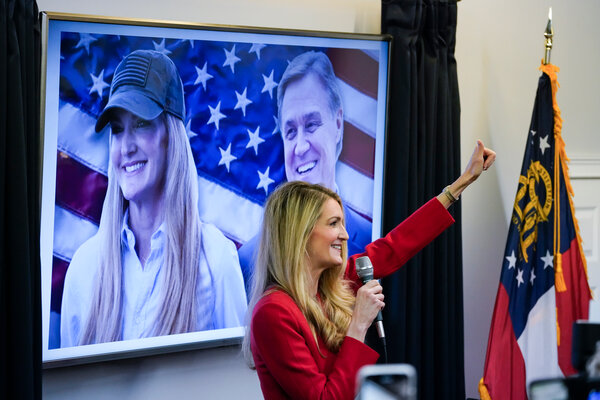 Senators Kelly Loeffler and David Perdue face runoff elections in January that will determine which party controls the Senate.