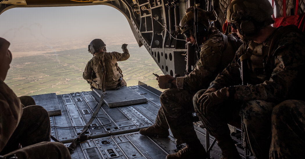 U.S. Troops Are Packing Up, Ready or Not