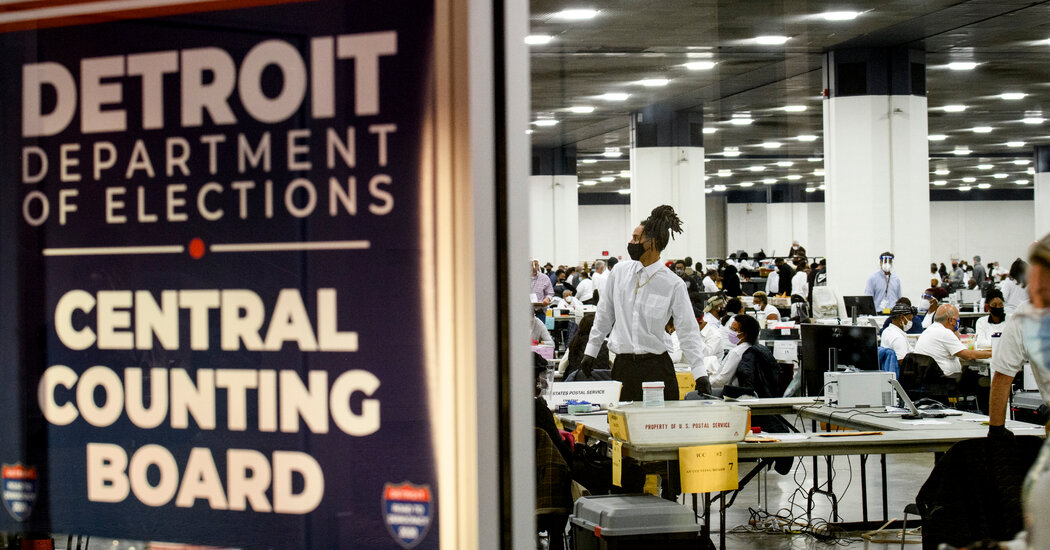 G.O.P. officials refused to certify Michigan ballots over issues that are fairly common.