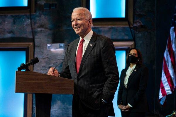 Joe Biden, el presidente electo de Estados Unidos, este mes
