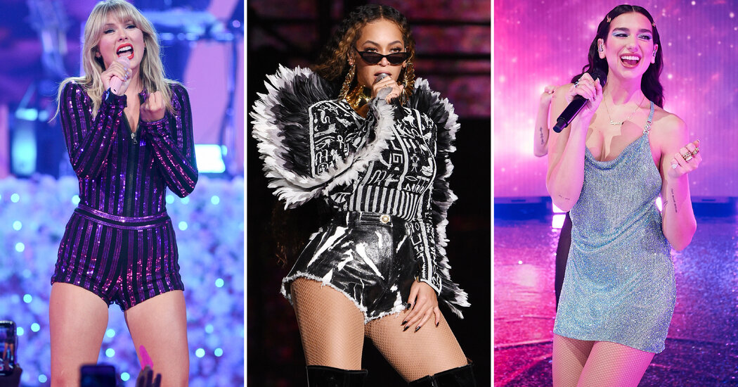 Beyoncé, Taylor Swift and Dua Lipa Dominate 2021 Grammy Nominations
