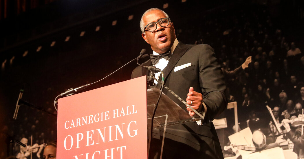 Carnegie Hall Stands By Its Chairman, Despite Tax Violations