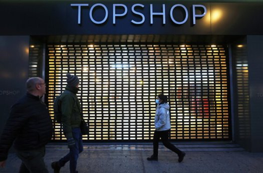 """Arcadia Group, the parent company of Topshop, a clothing chain in Britain, said it needed bankruptcy protection because lockdowns have had a """"material impact"""" on its business."""