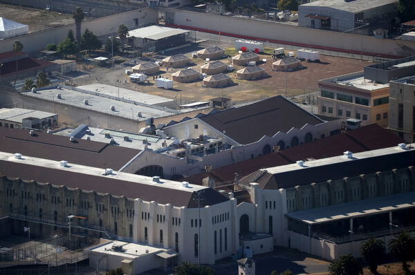 More than 1,400 inmates and staff at San Quentin State Prison in California were infected with the coronavirus last summer in one of the largest outbreaks in the country.