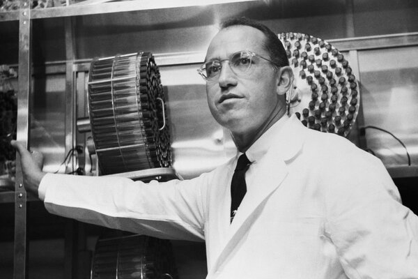 Dr. Jonas Salk, who developed the polio vaccine, balked at the idea of giving people placebos.