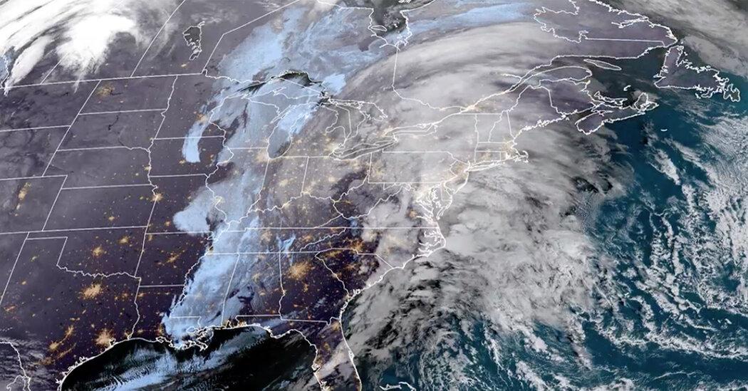 Major Winter Storm Brings Snow, Heavy Rain and Wind to East Coast