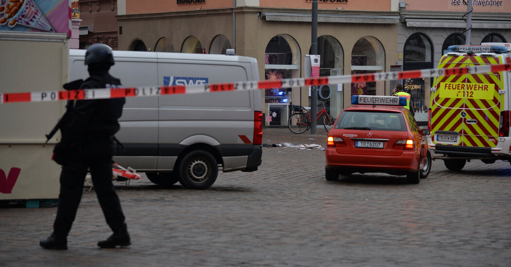 Car Plows Into Pedestrians in German City of Trier, Killing at Least 2