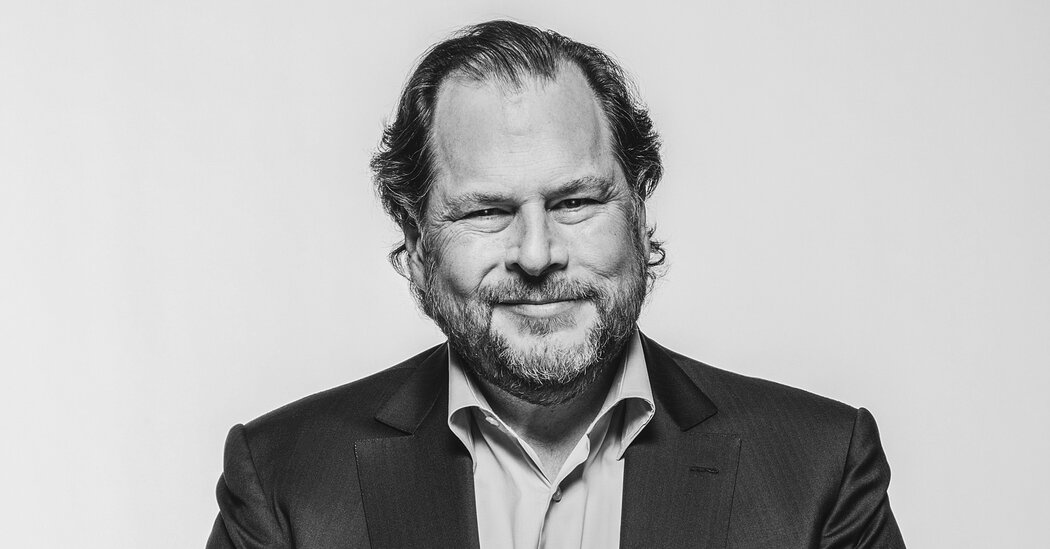 Marc Benioff Sets His Sights on Microsoft