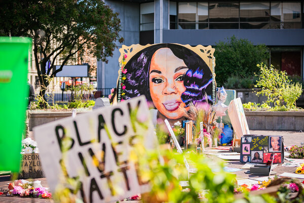 Chief Gentry is trying to restore trust in the department after Breonna Taylor was killed during a botched police raid on her apartment in March.