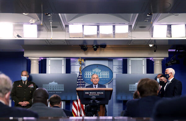 Dr. Anthony S. Fauci,the director of the National Institute of Allergy and Infectious Diseases, will stay in the same role, and will also be a chief medical adviser for President-elect Joseph Biden Jr.