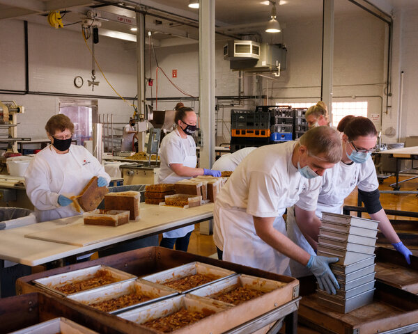 Beatrice Bakery in Nebraska moved its deadline for Christmas orders up a week this year.
