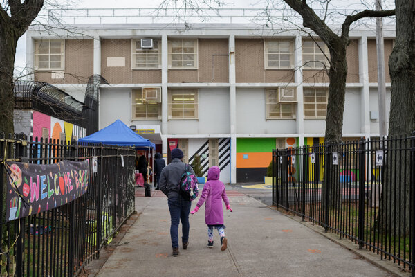 Mr. de Blasio has defended his focus on reopening classrooms, even as most parents have chosen to have their children learn from home indefinitely.