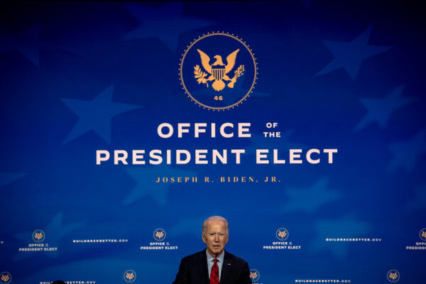 President-elect Joseph R. Biden Jr. will travel to Georgia next week to campaign for two Democratic Senate candidates.