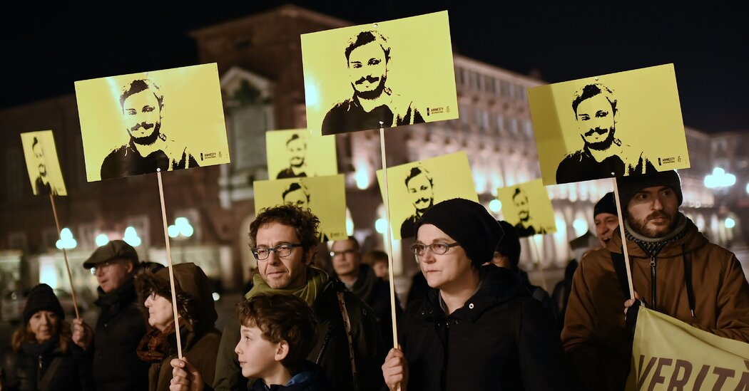 Italy Charges Egyptian Security Agents in Student's Killing
