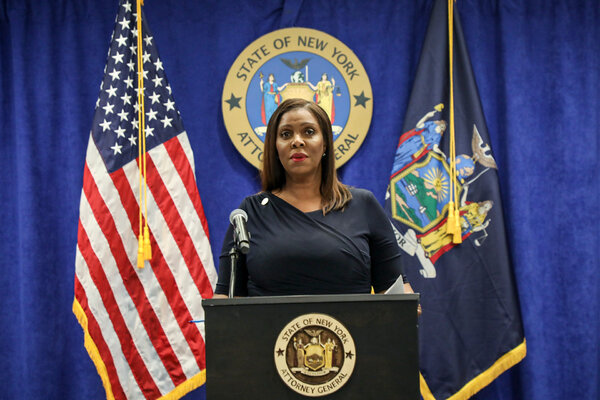 New York's attorney general, Letitia James, announced the suits against Facebook on Wednesday. Some legal experts said the cases were far from a slam dunk.