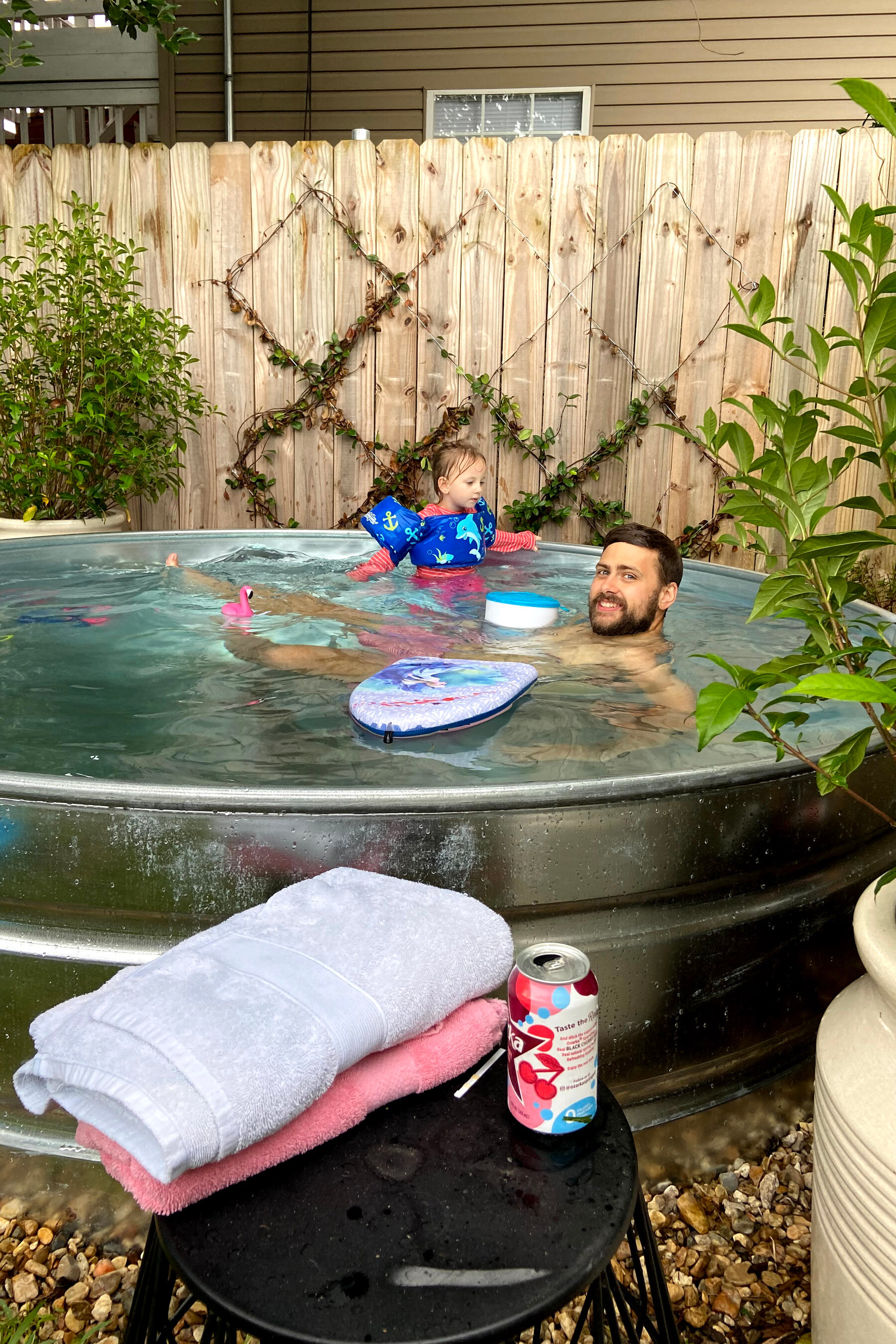 stock tank pools for your backyard