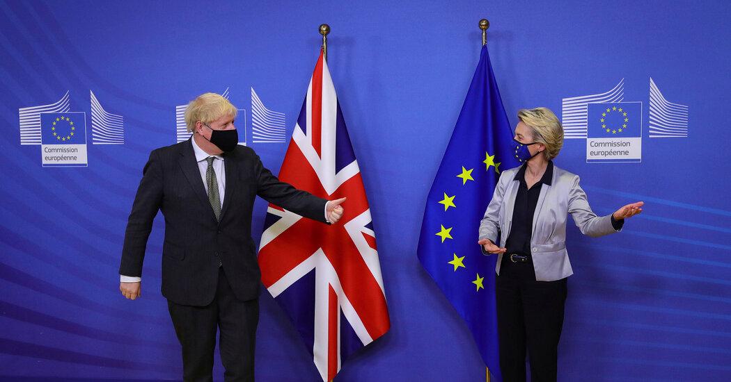 Brexit Trade Talks Approach Crucial Deadline. Again.