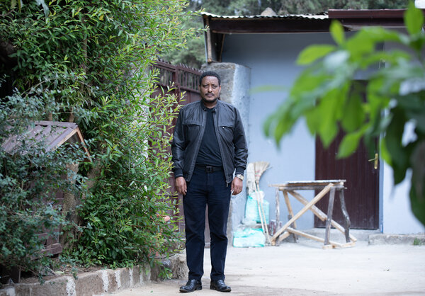 Lisanewerk Desta, a theologian, said that a dozen police officers burst into his home in Addis Ababa while he was at work, looking for anything that could incriminate him.