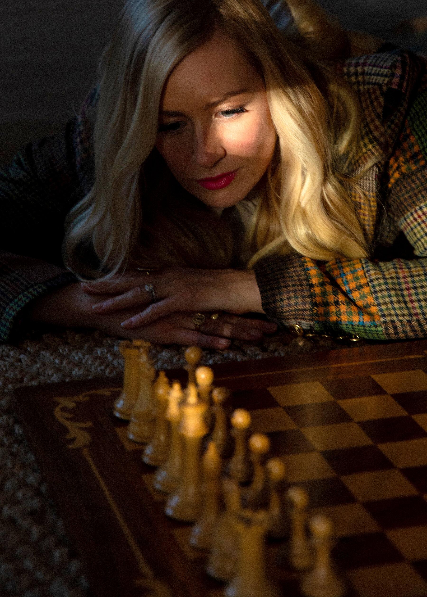 Echec En Ligne Avec Ami : echec, ligne, Dame', Encourage, Femmes, Mettre, échecs, Times