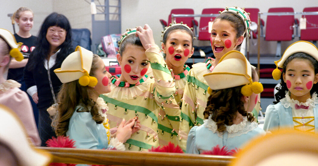 'On Pointe': The Real-Life Adventures of Some Very Young Dancers