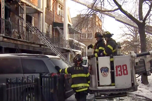 Two bodies were found on the first floor and another body was found on the third floor after a house fire in Queens, officials said.