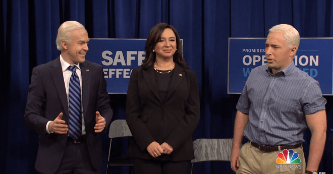'Saturday Night Live' Finds a New Joe Biden After Jim Carrey Exits