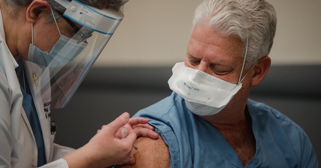 Frontline Workers and People Over 74 Should Get Shots Next, CDC Panel Says
