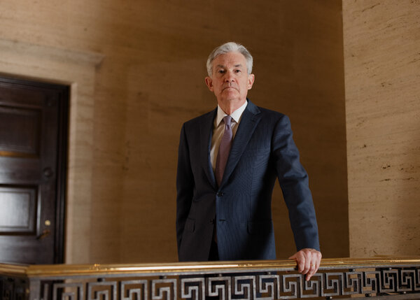 """We crossed a lot of red lines that had not been crossed before,"" Jerome H. Powell, the chair of the Federal Reserve, said of the central bank's pandemic response."