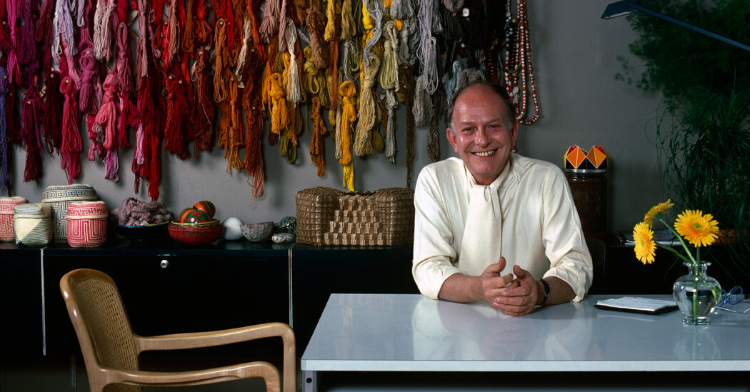 Jack Lenor Larsen, Innovative Textile Designer, Dies at 93
