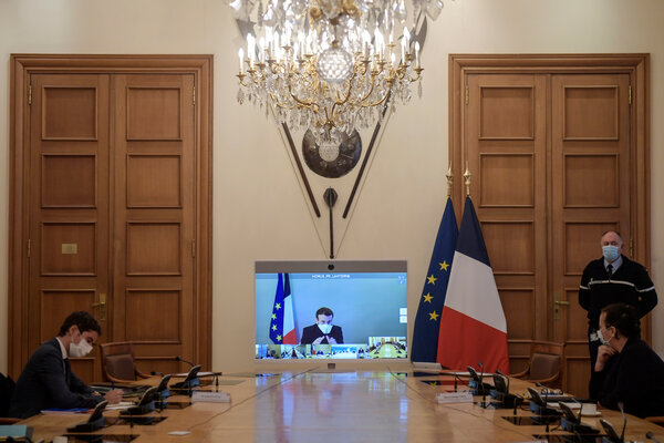 President Emmanuel Macron has urged the public to remain vigilant to try to keep infections under control during the Christmas holiday.