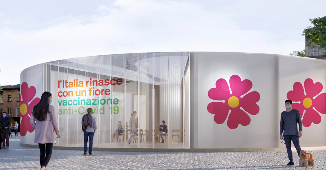 Italy Turns to Flower Power to Help Spread Vaccine Message