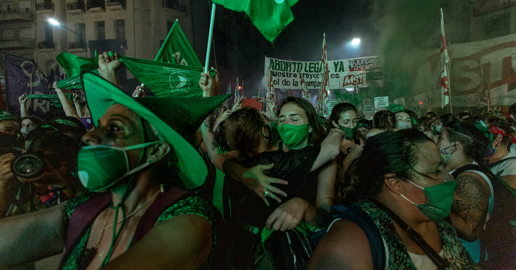 Argentina Legalizes Abortion, a Milestone in a Conservative Region