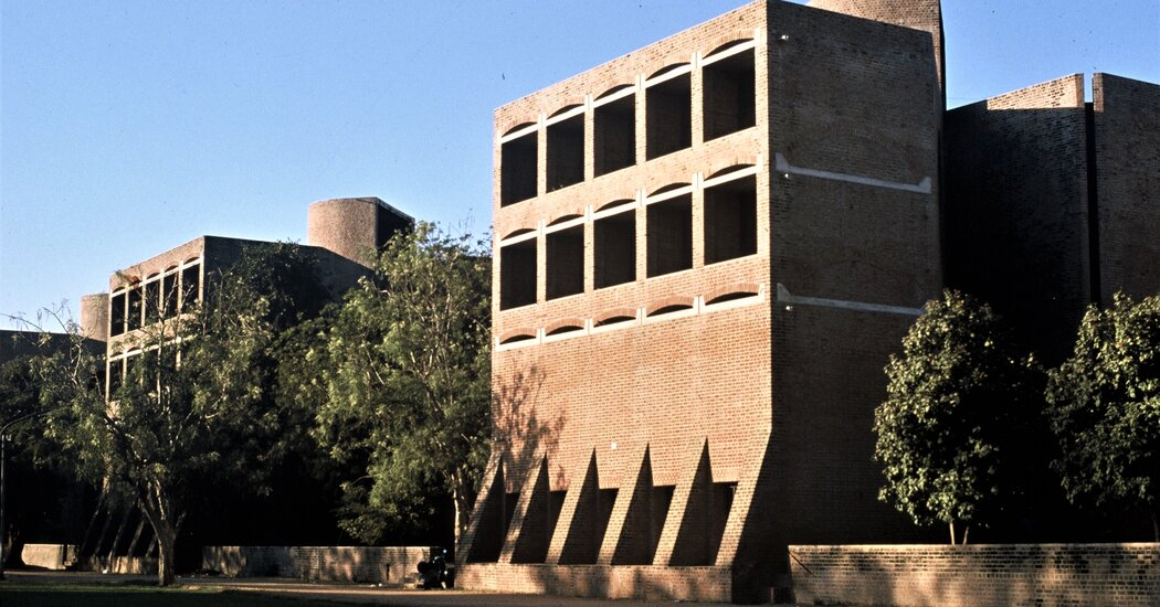 Plans to Raze Louis Kahn-Designed Dorms in India Are on Hold