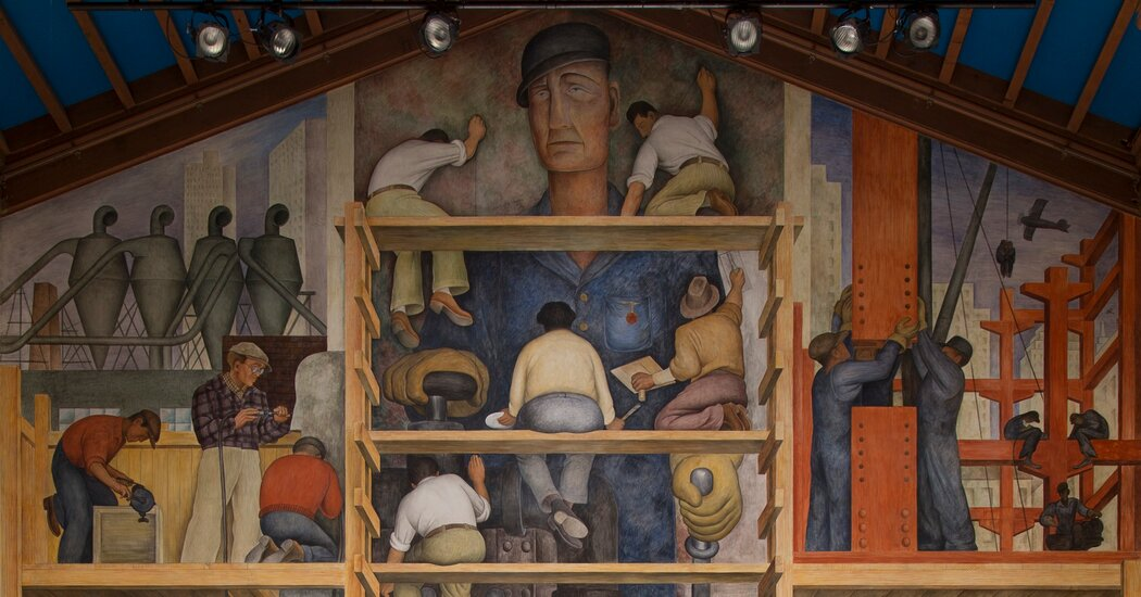 San Francisco's Top Art School Says Fate Hinges on a Diego Rivera Mural
