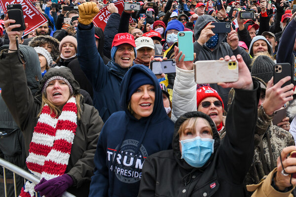 """Parler is one of several upstarts that have courted President Trump's supporters with promises of """"unbiased"""" and """"free speech"""" social networks."""